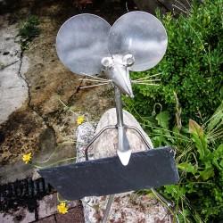 Maus aus Edelstahl